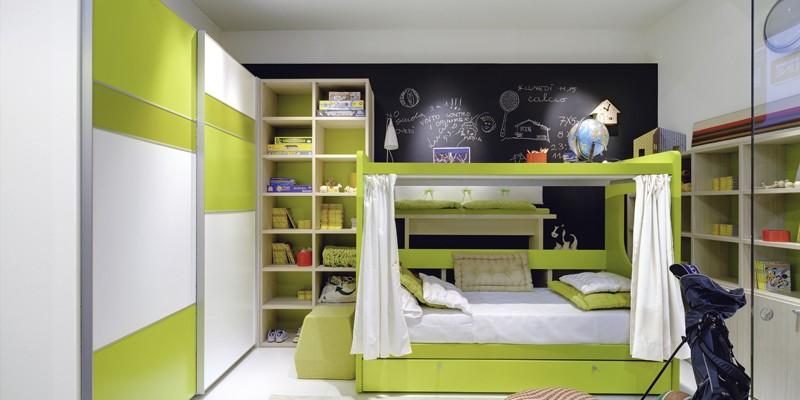 Camerette Verdi : Camerette mobili novali
